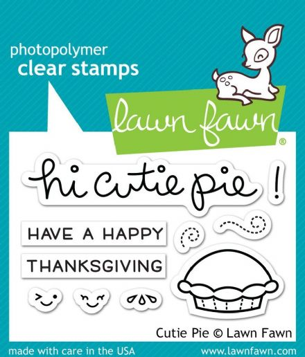 LF1210 S ~ CUTIE PIE ~ CLEAR STAMPS BY LAWN FAWN